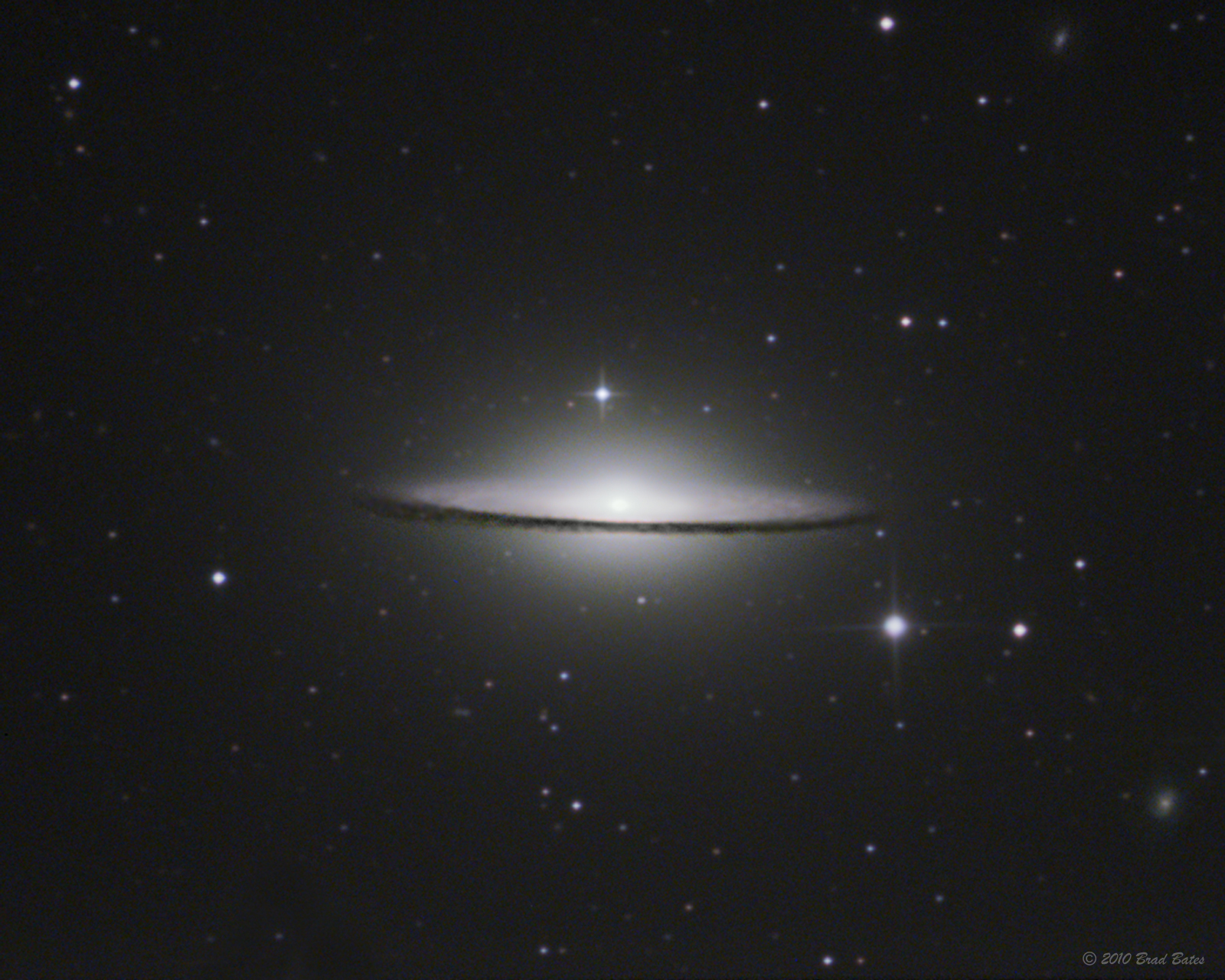 Messier 104 Sombrero Galaxy